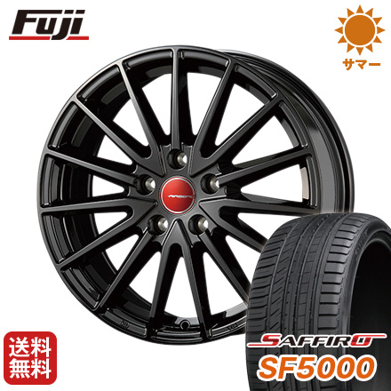 タイヤはフジ 送料無料 KOSEI コーセイ エアベルグ ゼノン 6.5J 6.50-16 SAFFIRO サフィーロ SF5000(限定) 205/60R16 16インチ サマータイヤ ホイール4本セット