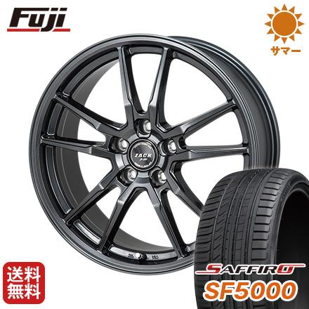 タイヤはフジ 送料無料 MONZA モンツァ ZACK JP-520 6J 6.00-15 SAFFIRO サフィーロ SF5000(限定) 195/65R15 15インチ サマータイヤ ホイール4本セット