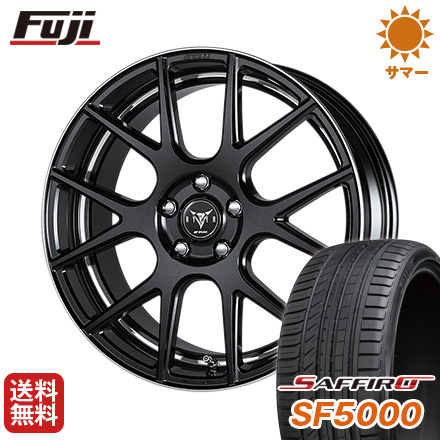 タイヤはフジ 送料無料 WORK ワーク レイバー M006 8J 8.00-19 SAFFIRO サフィーロ SF5000(限定) 225/35R19 19インチ サマータイヤ ホイール4本セット