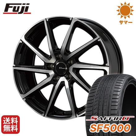保障できる タイヤはフジ 送料無料 KOSEI コーセイ プラウザー レグラス 7.5J 7.50-18 SAFFIRO サフィーロ SF5000(限定) 235/45R18 18インチ サマータイヤ ホイール4本セット, モダンデコ ab52995c