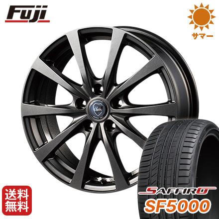 タイヤはフジ 送料無料 INTER MILANO インターミラノ クレール RG10 7J 7.00-17 SAFFIRO サフィーロ SF5000(限定) 205/45R17 17インチ サマータイヤ ホイール4本セット