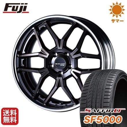 タイヤはフジ 送料無料 SSR エグゼキューター EX06 8.5J 8.50-20 SAFFIRO サフィーロ SF5000(限定) 225/35R20 20インチ サマータイヤ ホイール4本セット