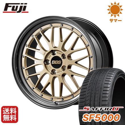 タイヤはフジ 送料無料 BBS JAPAN BBS LM 2018 Limited Edition 8.5J 8.50-20 SAFFIRO サフィーロ SF5000(限定) 255/45R20 20インチ サマータイヤ ホイール4本セット