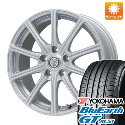 タイヤはフジ 送料無料 BIGWAY ビッグウエイ TRG SS10 7J 7.00-17 YOKOHAMA ブルーアース GT AE51 205/50R17 17インチ サマータイヤ ホイール4本セット
