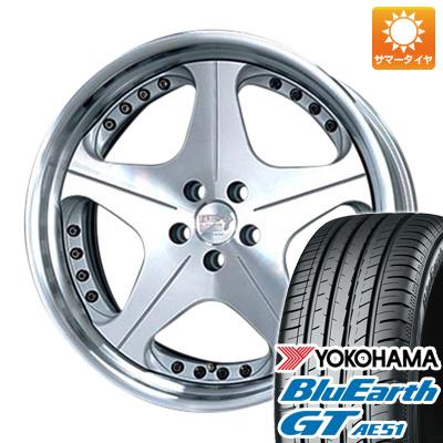 【送料無料】 225/35R19 19インチ SUPER STAR スーパースター レオンハルト オルデン 8J 8.00-19 YOKOHAMA ヨコハマ ブルーアース GT AE51 サマータイヤ ホイール4本セット