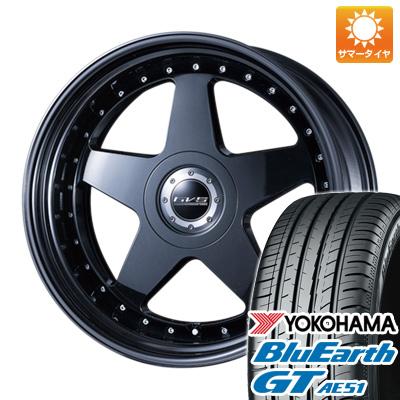 【送料無料】 225/35R19 19インチ AIMGAIN エイムゲイン GVS 7.5J 7.50-19 YOKOHAMA ヨコハマ ブルーアース GT AE51 サマータイヤ ホイール4本セット