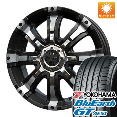 タイヤはフジ 送料無料 CRIMSON クリムソン マーテルギア(MG) ビースト 5J 5.00-15 YOKOHAMA ブルーアース GT AE51 165/55R15 15インチ サマータイヤ ホイール4本セット