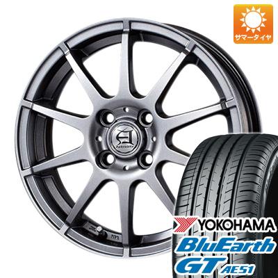 タイヤはフジ 送料無料 TECHNOPIA テクノピア アフロディーテ HS 6J 6.00-15 YOKOHAMA ブルーアース GT AE51 195/65R15 15インチ サマータイヤ ホイール4本セット