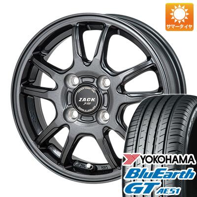 タイヤはフジ 送料無料 MONZA モンツァ ZACK JP-520 5.5J 5.50-15 YOKOHAMA ブルーアース GT AE51 185/60R15 15インチ サマータイヤ ホイール4本セット
