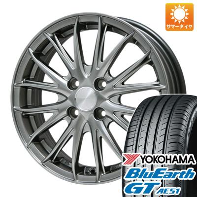 タイヤはフジ 送料無料 BRANDLE ブランドル 757 4.5J 4.50-15 YOKOHAMA ブルーアース GT AE51 165/55R15 15インチ サマータイヤ ホイール4本セット