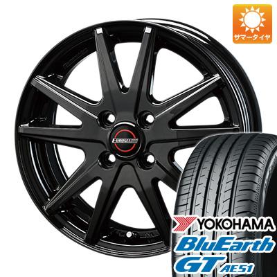 タイヤはフジ 送料無料 BLEST ブレスト ユーロマジック ランスST 4.5J 4.50-15 YOKOHAMA ブルーアース GT AE51 165/55R15 15インチ サマータイヤ ホイール4本セット