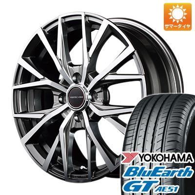 タイヤはフジ 送料無料 MID ヴァーテックワン アルバトロス 6J 6.00-16 YOKOHAMA ブルーアース GT AE51 195/50R16 16インチ サマータイヤ ホイール4本セット