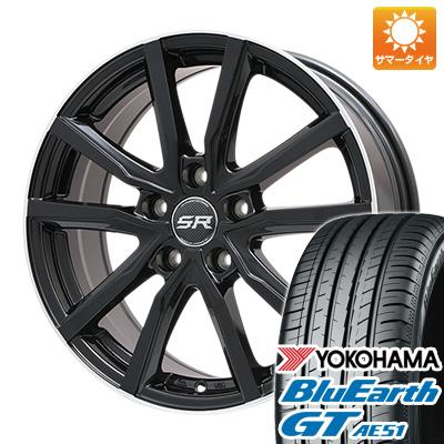 【送料無料】 205/50R17 17インチ BRANDLE ブランドル N52B 7J 7.00-17 YOKOHAMA ヨコハマ ブルーアース GT AE51 サマータイヤ ホイール4本セット