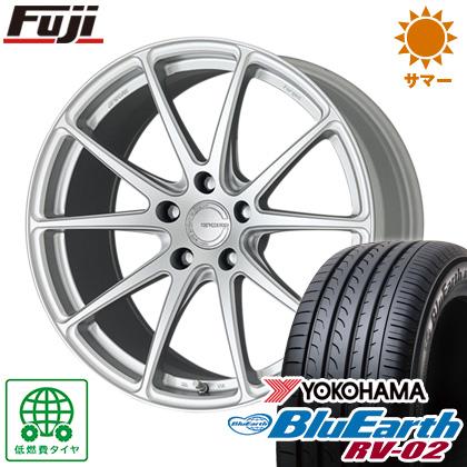 タイヤはフジ 送料無料 WORK ワーク グノーシスFMB 01 8.5J 8.50-20 YOKOHAMA ブルーアース RV-02 245/35R20 20インチ サマータイヤ ホイール4本セット