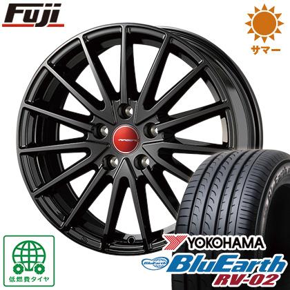 タイヤはフジ 送料無料 KOSEI コーセイ エアベルグ ゼノン 6.5J 6.50-16 YOKOHAMA ブルーアース RV-02 195/60R16 16インチ サマータイヤ ホイール4本セット
