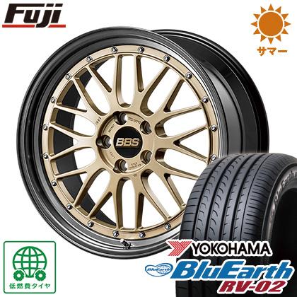 タイヤはフジ 送料無料 BBS JAPAN BBS LM 2018 Limited Edition 8.5J 8.50-20 YOKOHAMA ブルーアース RV-02 245/35R20 20インチ サマータイヤ ホイール4本セット