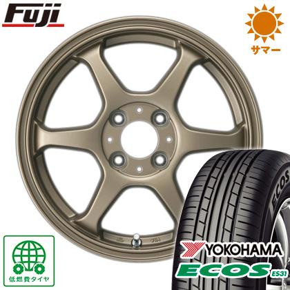 タイヤはフジ 送料無料 カジュアルセット タイプL 2. 5J 5.00-14 YOKOHAMA エコス ES31 155/65R14 14インチ サマータイヤ ホイール4本セット