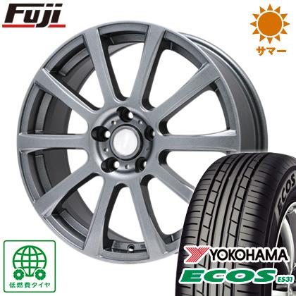 タイヤはフジ 送料無料 BRANDLE ブランドル 565T 6.5J 6.50-16 YOKOHAMA エコス ES31 205/55R16 16インチ サマータイヤ ホイール4本セット