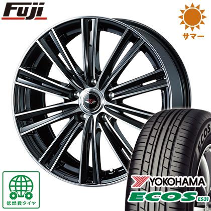 タイヤはフジ 送料無料 WEDS ウェッズ テッドスナップ 6J 6.00-15 YOKOHAMA エコス ES31 195/65R15 15インチ サマータイヤ ホイール4本セット