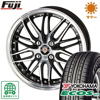 タイヤはフジ 送料無料 ソリオ(MA36S) KYOHO 共豊 シュタイナー LMX 4.5J 4.50-15 YOKOHAMA エコス ES31 165/65R15 15インチ サマータイヤ ホイール4本セット