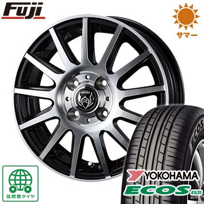 タイヤはフジ 送料無料 WEDS ウェッズ ライツレー KG 5.5J 5.50-15 YOKOHAMA エコス ES31 175/65R15 15インチ サマータイヤ ホイール4本セット