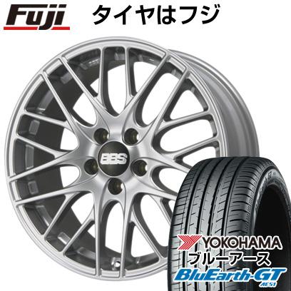 タイヤはフジ 送料無料 BBS GERMANY BBS CS 7.5J 7.50-18 YOKOHAMA ブルーアース GT AE51 235/45R18 18インチ サマータイヤ ホイール4本セット