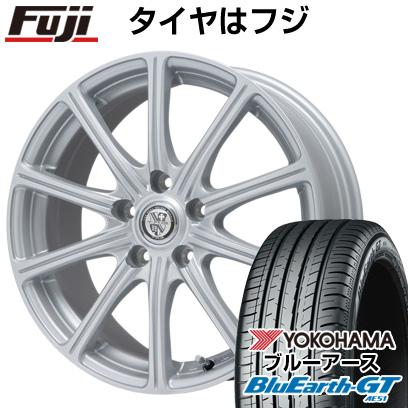タイヤはフジ 送料無料 BIGWAY ビッグウエイ TRG SS10限定 7.5J 7.50-18 YOKOHAMA ブルーアース GT AE51 215/40R18 18インチ サマータイヤ ホイール4本セット