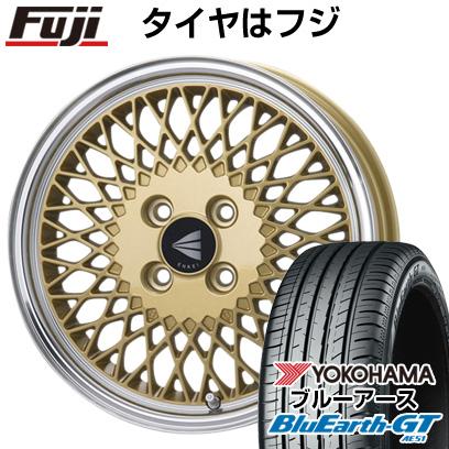 タイヤはフジ 送料無料 ENKEI エンケイ クラシック ENKEI 92 6.5J 6.50-16 YOKOHAMA ブルーアース GT AE51 185/55R16 16インチ サマータイヤ ホイール4本セット