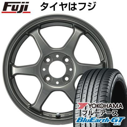 タイヤはフジ 送料無料 カジュアルセット タイプL 2. 5J 5.00-14 YOKOHAMA ブルーアース GT AE51 155/65R14 14インチ サマータイヤ ホイール4本セット