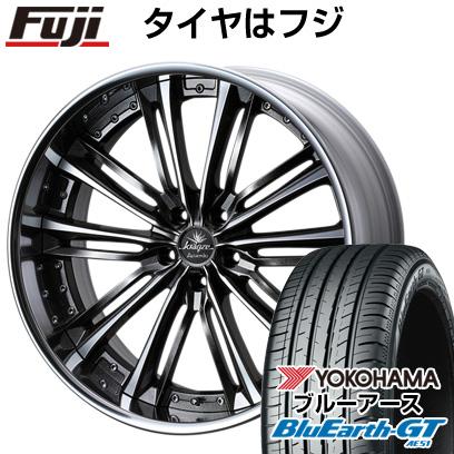 タイヤはフジ 送料無料 WEDS ウェッズ クレンツェ アクエルド 8.5J 8.50-19 YOKOHAMA ブルーアース GT AE51 235/40R19 19インチ サマータイヤ ホイール4本セット