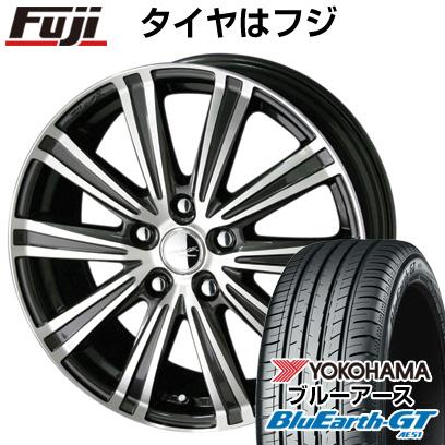 タイヤはフジ 送料無料 KYOHO 共豊 スマック スパロー 6J 6.00-15 YOKOHAMA ブルーアース GT AE51 195/65R15 15インチ サマータイヤ ホイール4本セット