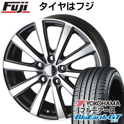 タイヤはフジ 送料無料 KYOHO 共豊 スマック VI-R 7J 7.00-17 YOKOHAMA ブルーアース GT AE51 205/50R17 17インチ サマータイヤ ホイール4本セット