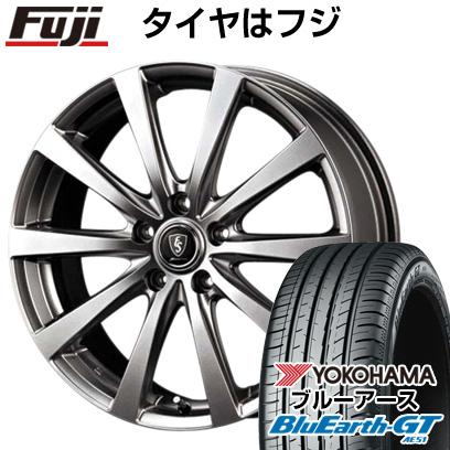 タイヤはフジ 送料無料 MID ユーロスピード G10 6.5J 6.50-16 YOKOHAMA ブルーアース GT AE51 205/65R16 16インチ サマータイヤ ホイール4本セット