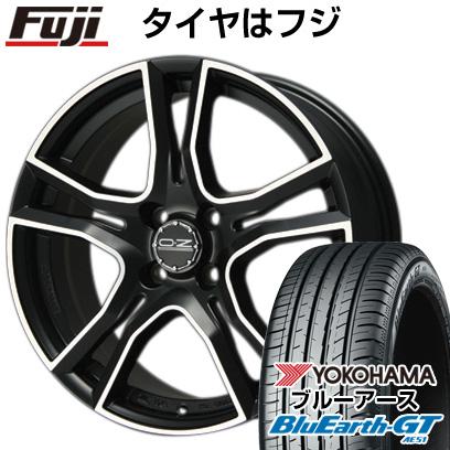 タイヤはフジ 送料無料 OZ X-LINE アドレナリーナ 6.5J 6.50-16 YOKOHAMA ブルーアース GT AE51 195/45R16 16インチ サマータイヤ ホイール4本セット