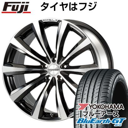 タイヤはフジ 送料無料 VENERDI ヴェネルディ マデリーナ 8.5J 8.50-19 YOKOHAMA ブルーアース GT AE51 245/40R19 19インチ サマータイヤ ホイール4本セット