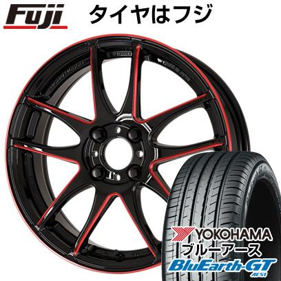 【取付対象】 【送料無料】 185/55R16 16インチ WORK ワーク エモーション CR kiwami 6.5J 6.50-16 YOKOHAMA ヨコハマ ブルーアース GT AE51 サマータイヤ ホイール4本セット