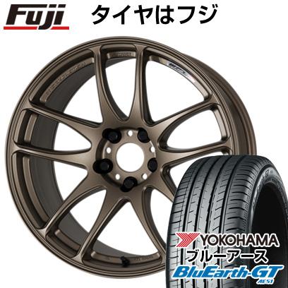 【送料無料】  WORK ワーク エモーション CR kiwami 8.5J 8.50-19 YOKOHAMA ブルーアース GT AE51 225/40R19 19インチ サマータイヤ ホイール4本セット