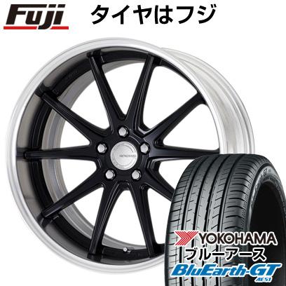 【送料無料】  WORK ワーク グノーシスCV 201 8J 8.00-19 YOKOHAMA ブルーアース GT AE51 225/45R19 19インチ サマータイヤ ホイール4本セット