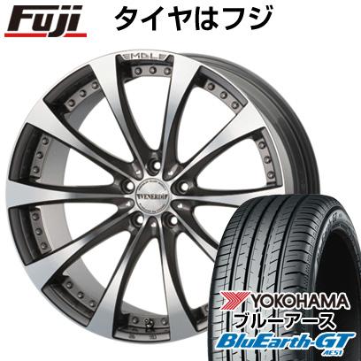 タイヤはフジ 送料無料 VENERDI ヴェネルディ マデリーナアデーレ 7.5J 7.50-18 YOKOHAMA ブルーアース GT AE51 235/50R18 18インチ サマータイヤ ホイール4本セット