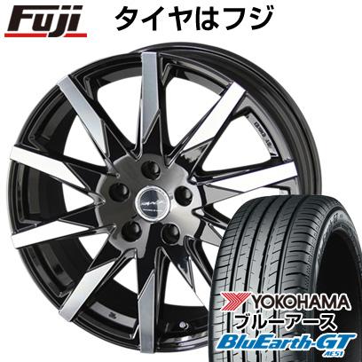 タイヤはフジ 送料無料 KYOHO 共豊 スマック スフィーダ 6J 6.00-15 YOKOHAMA ブルーアース GT AE51 205/65R15 15インチ サマータイヤ ホイール4本セット