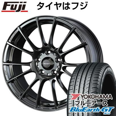 最も信頼できる タイヤはフジ 送料無料 WEDS ウェッズスポーツ SA-72R 7.5J 7.50-18 YOKOHAMA ブルーアース GT AE51 225/40R18 18インチ サマータイヤ ホイール4本セット, 明日香村 9a480a78