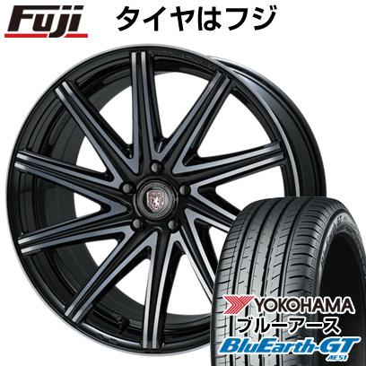 タイヤはフジ 送料無料 CRIMSON クリムソン クラブリネア ロッシ FF 8J 8.00-19 YOKOHAMA ブルーアース GT AE51 235/35R19 19インチ サマータイヤ ホイール4本セット