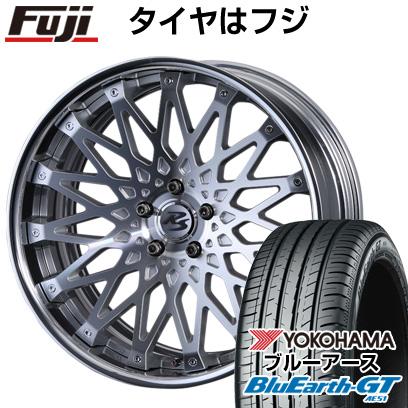 タイヤはフジ 送料無料 CRIMSON クリムソン RS CV WIRE マルチピース 8.5J 8.50-19 YOKOHAMA ブルーアース GT AE51 235/40R19 19インチ サマータイヤ ホイール4本セット