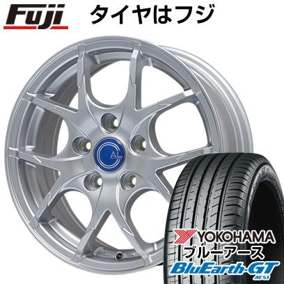 タイヤはフジ 送料無料 BRANDLE ブランドル M69 6.5J 6.50-16 YOKOHAMA ブルーアース GT AE51 215/65R16 16インチ サマータイヤ ホイール4本セット