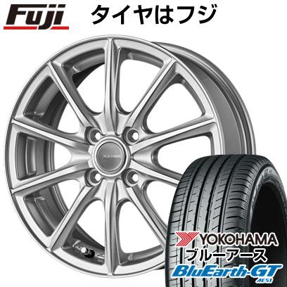 タイヤはフジ 送料無料 BRIDGESTONE ブリヂストン エコフォルム SE-15 6J 6.00-16 YOKOHAMA ブルーアース GT AE51 195/50R16 16インチ サマータイヤ ホイール4本セット