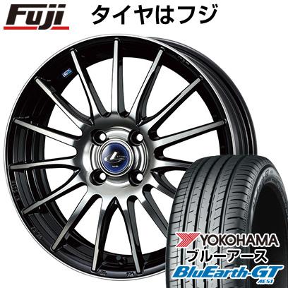 タイヤはフジ 送料無料 WEDS ウェッズ レオニス NAVIA 05 5.5J 5.50-15 YOKOHAMA ブルーアース GT AE51 185/65R15 15インチ サマータイヤ ホイール4本セット