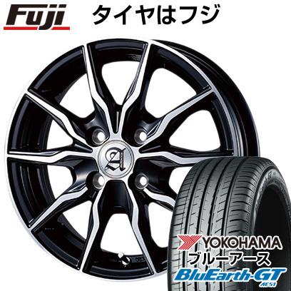 タイヤはフジ 送料無料 TECHNOPIA テクノピア アドニス KRS 5.5J 5.50-15 YOKOHAMA ブルーアース GT AE51 185/65R15 15インチ サマータイヤ ホイール4本セット