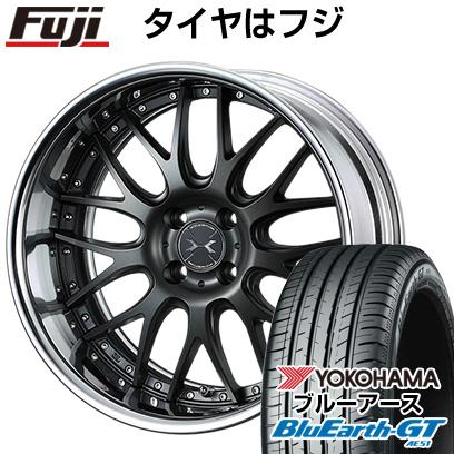 タイヤはフジ 送料無料 WEDS ウェッズ マーベリック 709M 6J 6.00-16 YOKOHAMA ブルーアース GT AE51 185/55R16 16インチ サマータイヤ ホイール4本セット