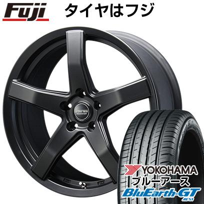 タイヤはフジ 送料無料 BLEST ブレスト バーンズテック V-05 8J 8.00-18 YOKOHAMA ブルーアース GT AE51 225/50R18 18インチ サマータイヤ ホイール4本セット