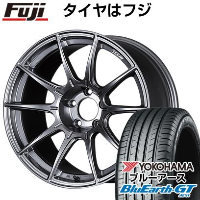 タイヤはフジ 送料無料 SSR GTX01 6J 6.00-15 YOKOHAMA ブルーアース GT AE51 175/65R15 15インチ サマータイヤ ホイール4本セット